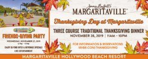 Margaritaville Hollywood Beach Resort Thanksgiving Weekend Events