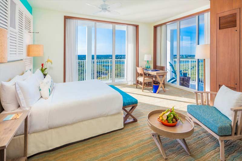 Luxurious interior room at Margaritaville Hollywood Beach Resort in Hollywood FL