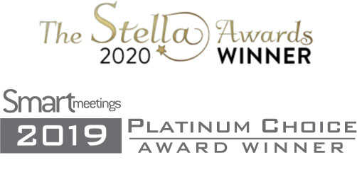 Smart Meetings 2019 Platinum Choice Award Winner and Stella 2020 Award Winner
