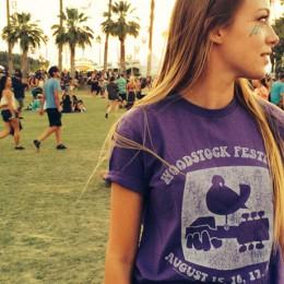 The Woodstock Purple Dove T-Shirt
