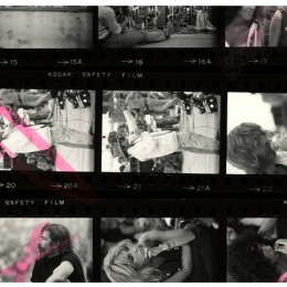 Found this Henry Diltz contact sheet in the vault. Which frame is your favorite?