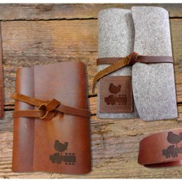 Leather and Wool Accessories: Coming Soon to the Woodstock Store