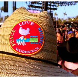 Woodstock is Seen at all the Best Music Festivals!