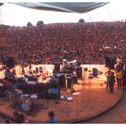 View from the Stage, Shot by Jim Marshall