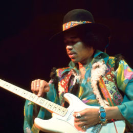 Top Five Memorable Moments From Jimi Hendrix's Career