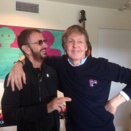 Paul McCartney and Ringo Starr Reunite in Studio for New Music!