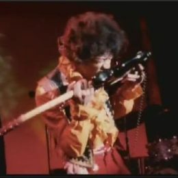 Jimi Hendrix Monterey Guitar Is Going Up For Auction