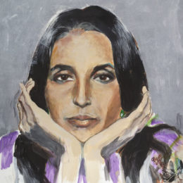 "Joan Baez Confirms ""Mischief Makers"" Painting Exhibition"