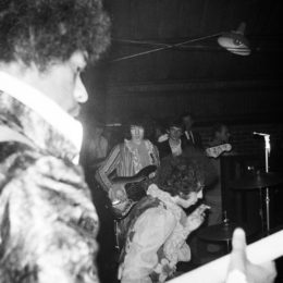 See Unearthed Photos of Jimi Hendrix and Eric Clapton From Barbecue