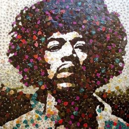 Unique Jimi Hendrix Portrait Headed to Auction