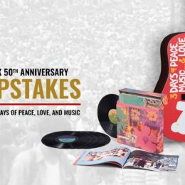 Enter the Ultimate Woodstock 50th Anniversary Sweepstakes!