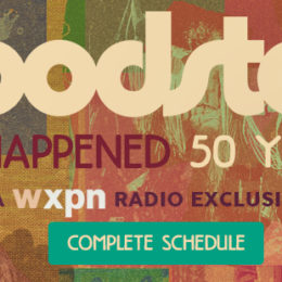 The 50th anniversary broadcast of Woodstock