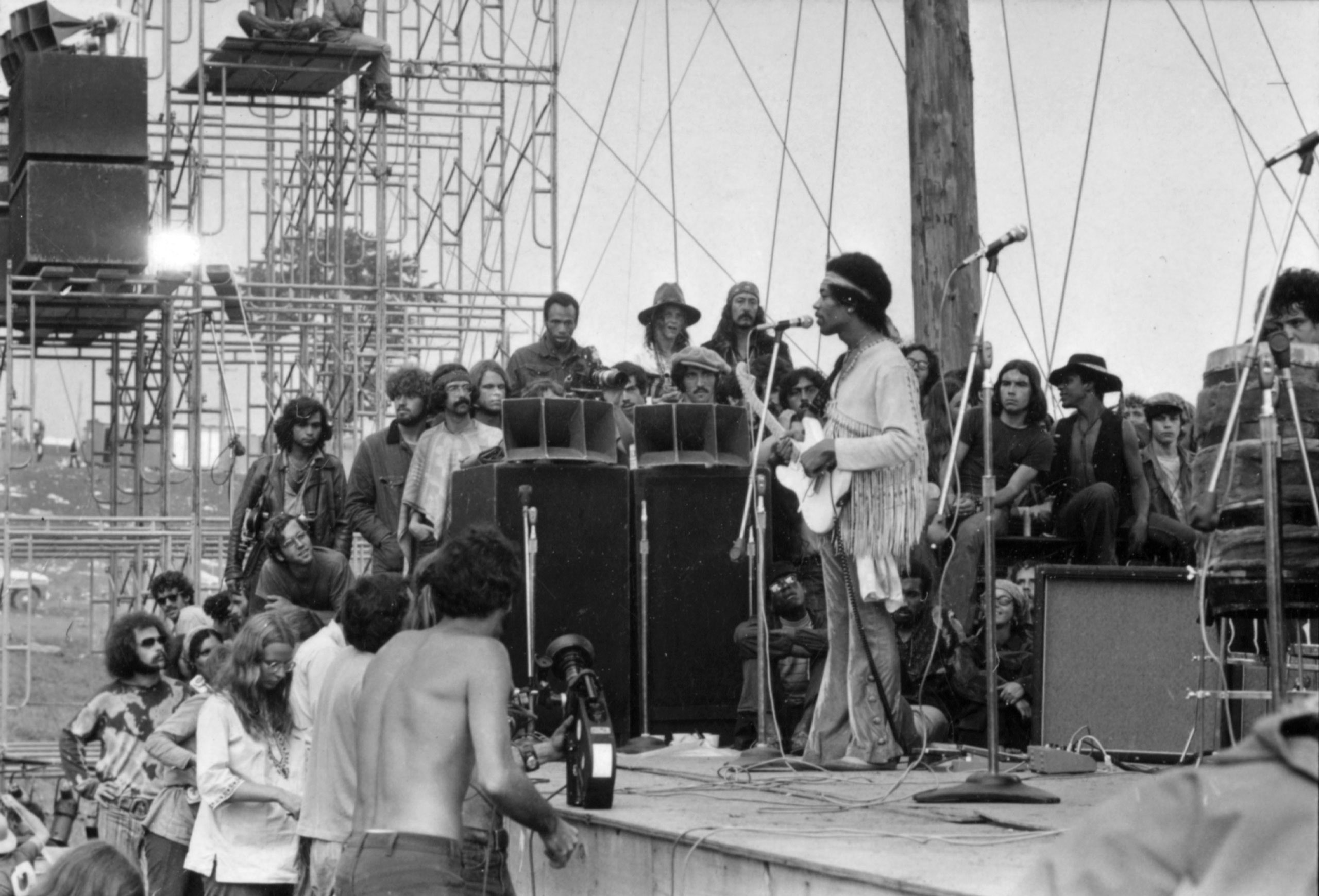 The New Yorker-Rewinding Jimi Hendrix's National Anthem